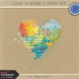Look, a Book! - Paint Kit