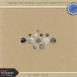 Woodland Winter - Button Template Kit