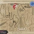 Woodland Winter - Doodle Template Kit 1