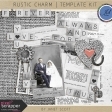 Rustic Charm - Template Kit