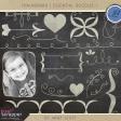 Chalkboard Essentials Doodle Kit 1