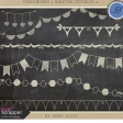 Chalkboard Bunting Doodle Kit 2