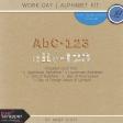 Work Day - Alphabet Kit