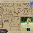 Strawberry Fields - Doodle Template Kit 2