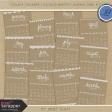 Toolbox Calendar - Doodled Monthly Journal Card Kit