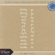Toolbox Calendar - Medium Doodle Months Template Kit