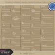 Toolbox Calendar 2 - General Doodled Journal Card Kit