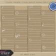 Toolbox Calendar 2 - School Doodled Journal Card Kit