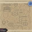 Toolbox Calendar 2 - Metal Arrow Doodle Kit