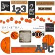 Basketball Elements Kit