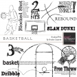Basketball Brushes/PNGs Kit