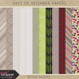 Days of December Papers Kit