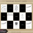 Shopping Pocket Cards Kit