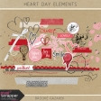Heart Day Elements