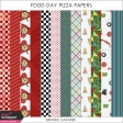 Food Day Pizza Papers Kit