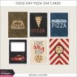 Food Day Pizza 3x4 Cards Kit