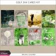 Golf 3x4 Cards Kit