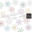 Touch of Sparkle Christmas Snowflakes Kit