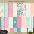 Shabby Wedding - Papers