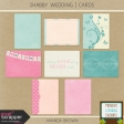 Shabby Wedding - Journal Cards