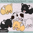 You Can't Buy Love Buy You Can Rescue It - Cat Element Kit