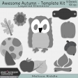 Awesome Autumn - Template Kit