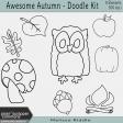 Awesome Autumn - Doodle Kit
