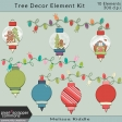 Christmas Tree Decor Element Kit