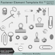 Fastener Element Template Kit