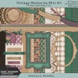 Vintage Memories Mini Kit