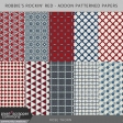 Robbie's Rockin Red - Addon Patterned Papers