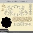 Floral Filigrees - Elements