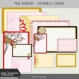 The Orient - Journal Cards