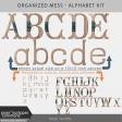 Organized Mess - Alphabet Kit