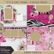 It's A Girl Thing! - Quick Pages Kit
