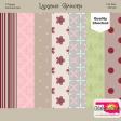 Ladybug Garden - pattern paper mini