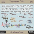 Renaissance Faire - word tag/word art