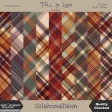 Fall in Love - November 2019 blog train - plaid papers