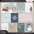Winter Day Journal Cards
