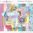 Raindrops and Rainbows (Watercolor Fantasy) Mini Kit