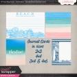 May 2017 Blog Train - Destination Florida Beach Journal Cards