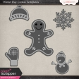 Winter Day Cookie Templates
