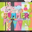 Summer Lovin' July 2017 Blog Train Mini Kit