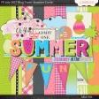 Summer Lovin' July 2017 Blog Train Mini Kit