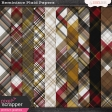 Reminisce Plaid Papers Kit