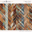 Copper Spice Plaid Papers