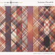 Autumn Bramble Plaid Papers