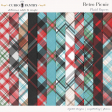 Retro Picnic Plaid Papers