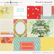 Peach Lemonade Journal Cards