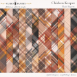 Chicken Keeper Plaid Papers